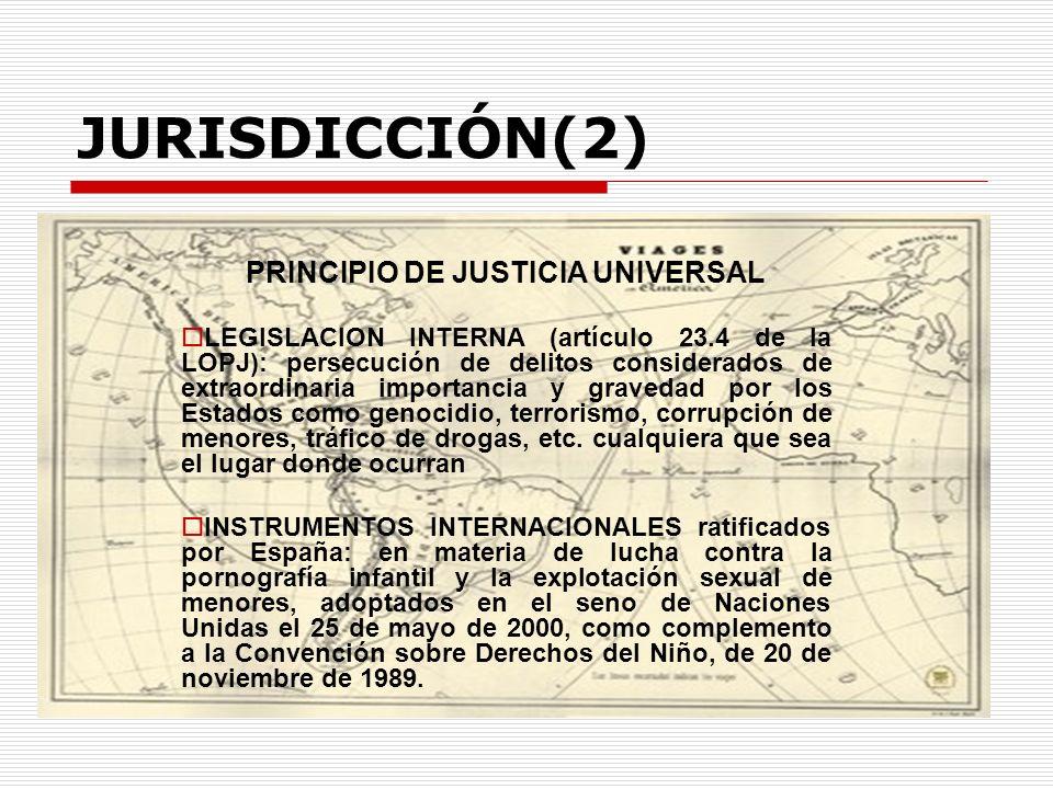 PRINCIPIO DE JUSTICIA UNIVERSAL