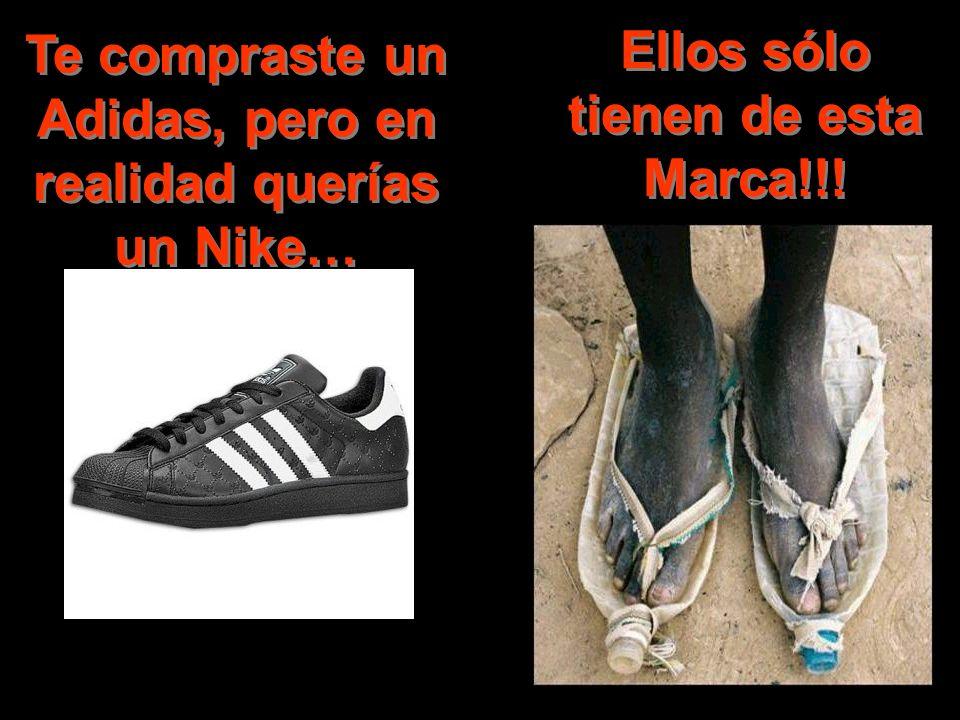 Te compraste un Adidas, pero en realidad querías un Nike…