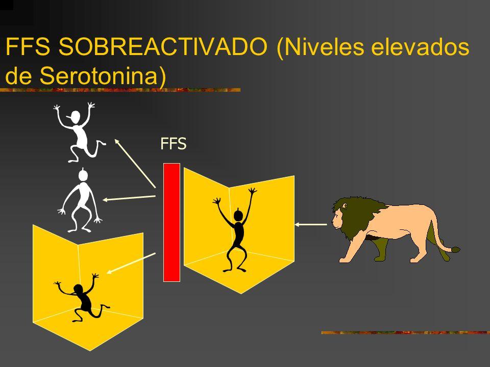 FFS SOBREACTIVADO (Niveles elevados de Serotonina)