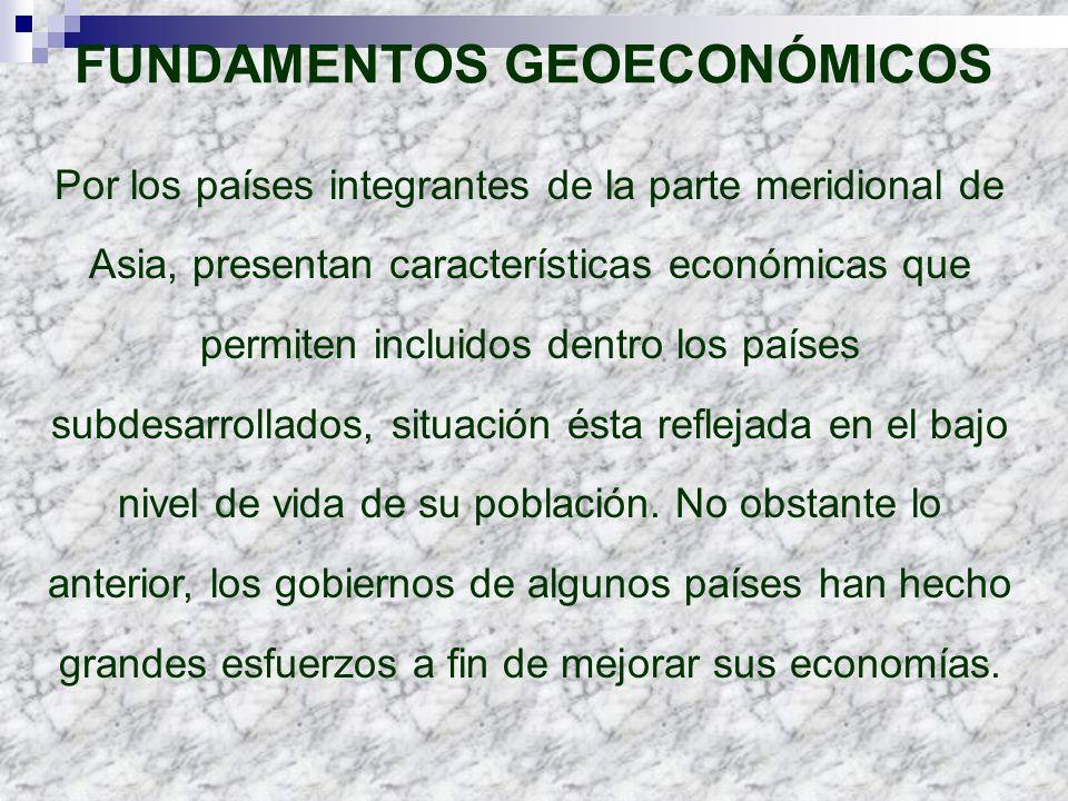 FUNDAMENTOS GEOECONÓMICOS
