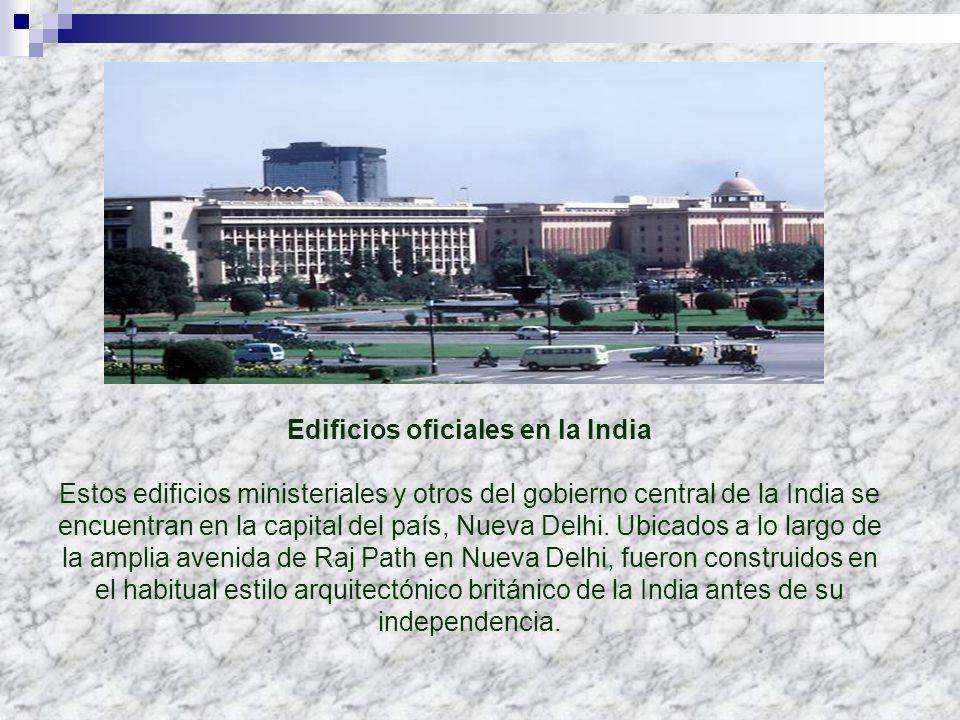 Edificios oficiales en la India