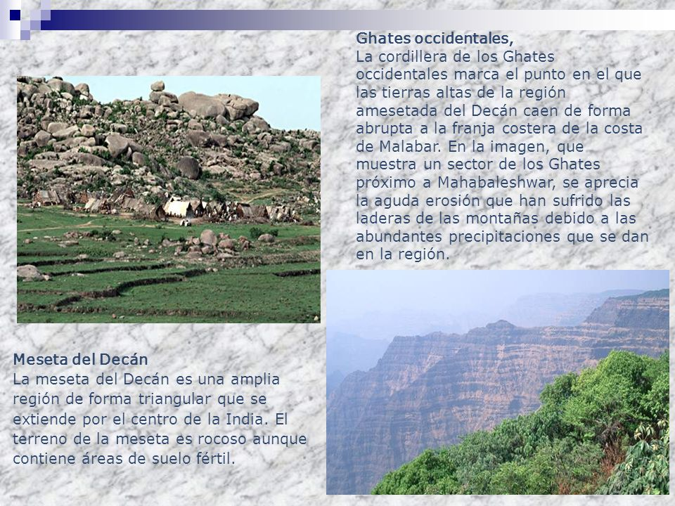 Ghates occidentales,