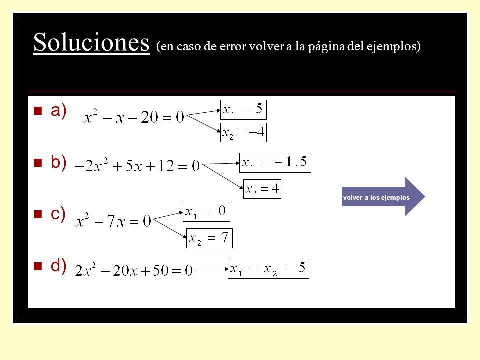 Soluciones (en caso de error volver a la página del ejemplos)