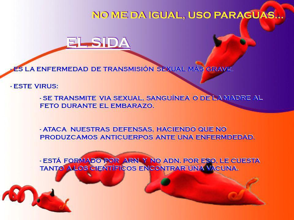 EL SIDA NO ME DA IGUAL, USO PARAGUAS...