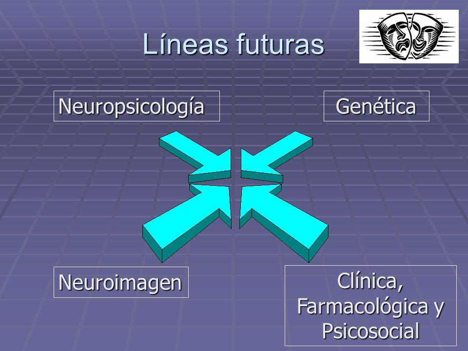 Clínica, Farmacológica y Psicosocial