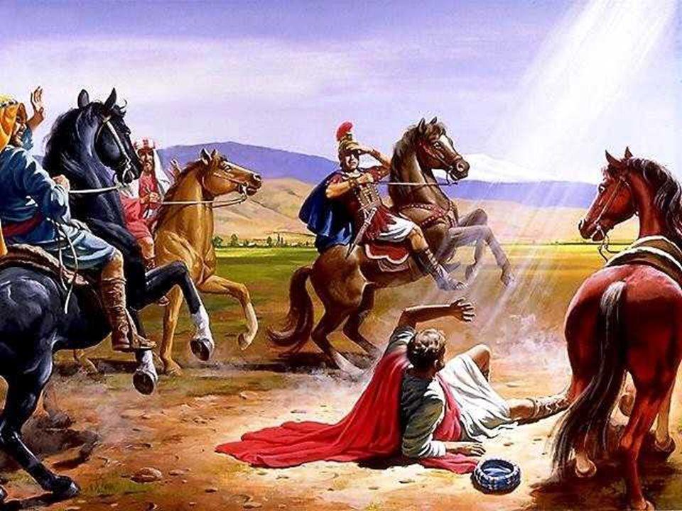 SAN PABLO llega a Jesús por un camino diferente.
