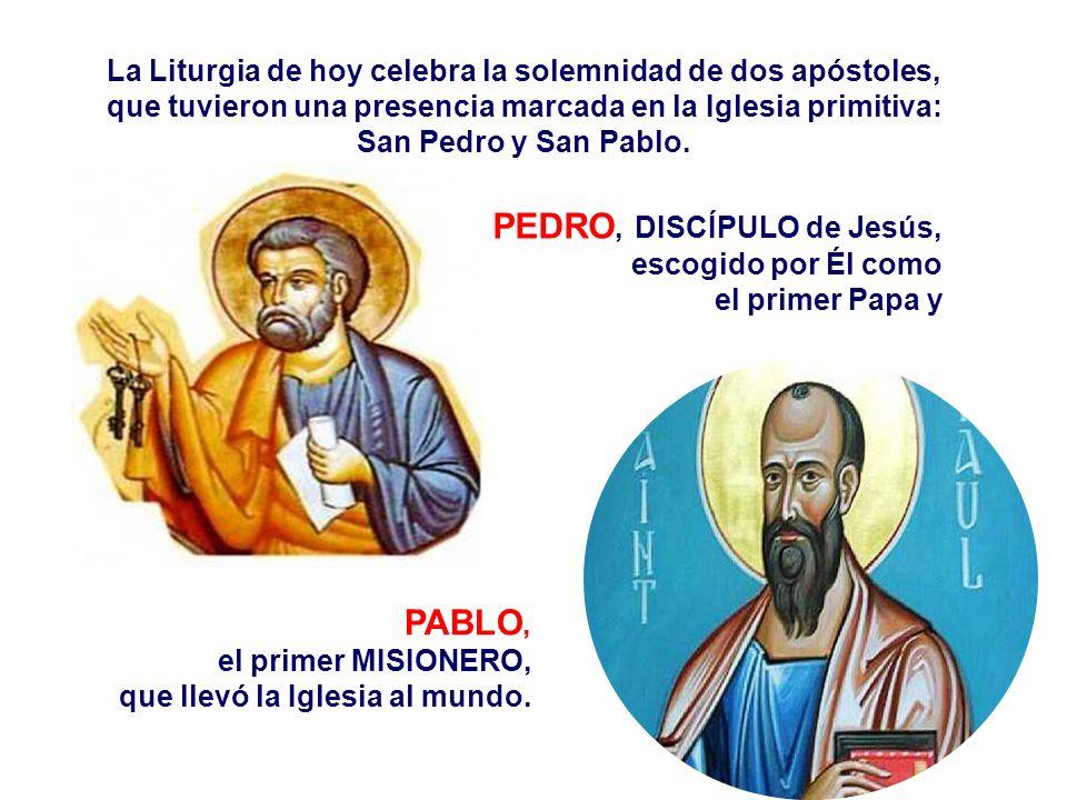 PEDRO, DISCÍPULO de Jesús,