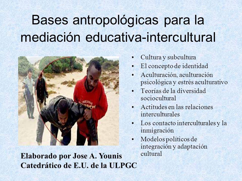 Bases antropológicas para la mediación educativa-intercultural