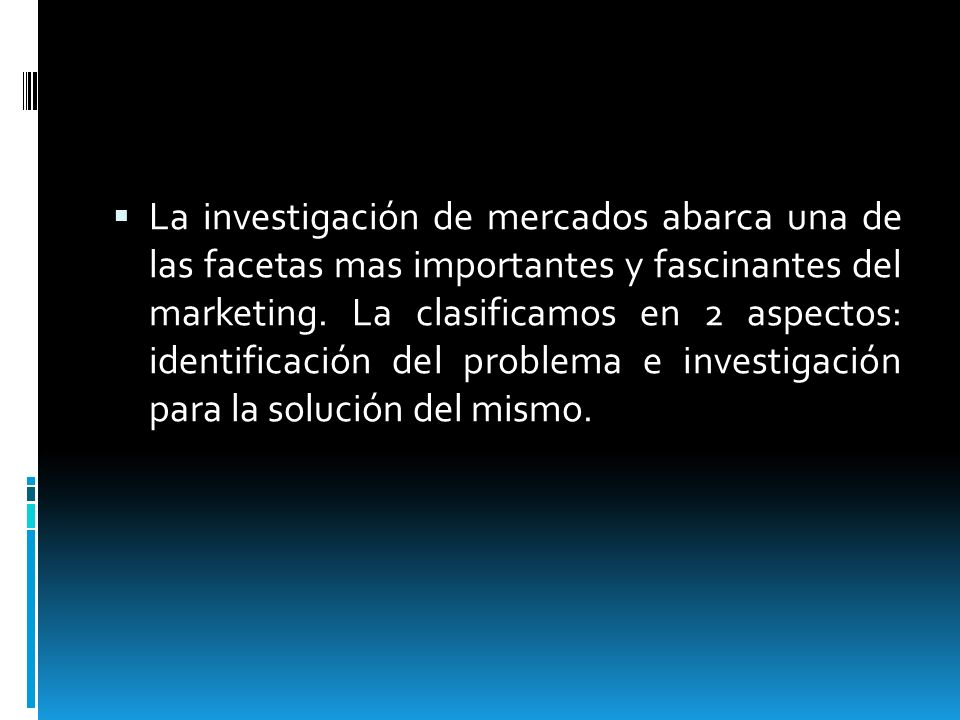La investigación de mercados abarca una de las facetas mas importantes y fascinantes del marketing.