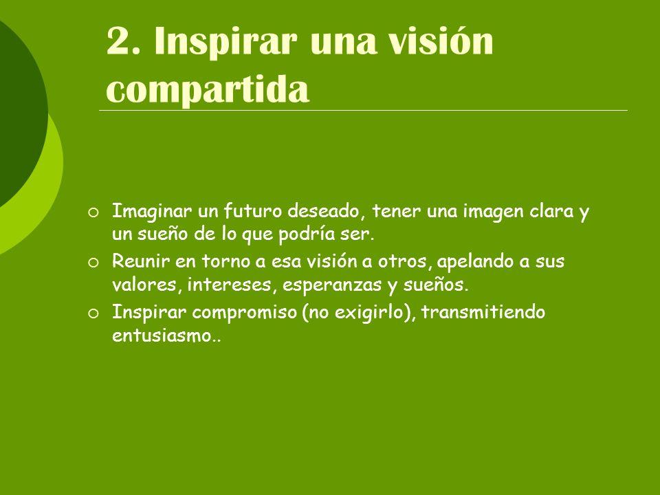 2. Inspirar una visión compartida