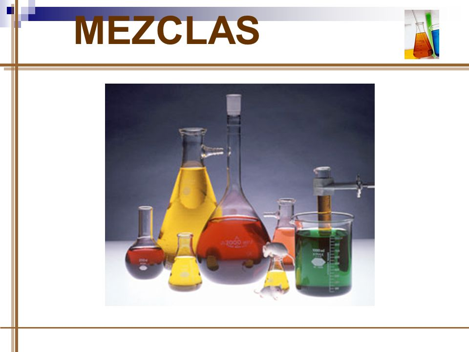 MEZCLAS