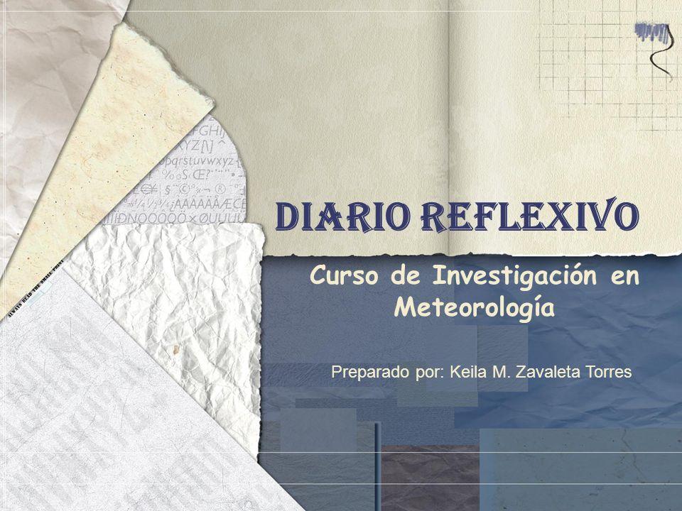 Curso de Investigación en Meteorología