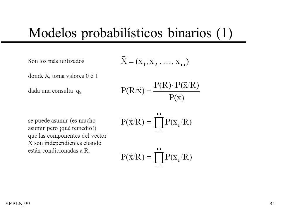 Modelos probabilísticos binarios (1)