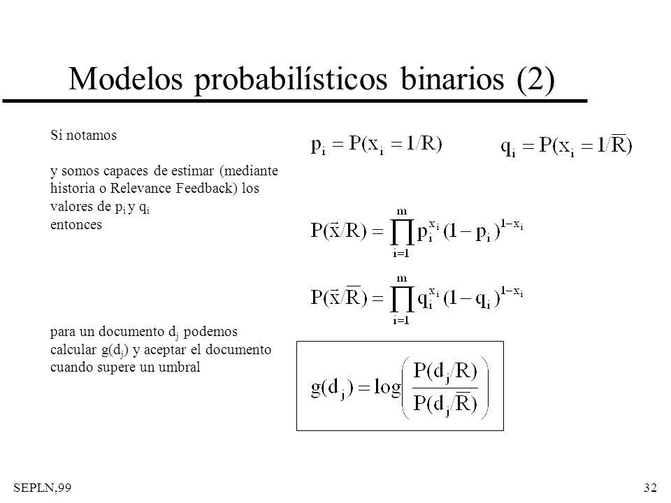 Modelos probabilísticos binarios (2)