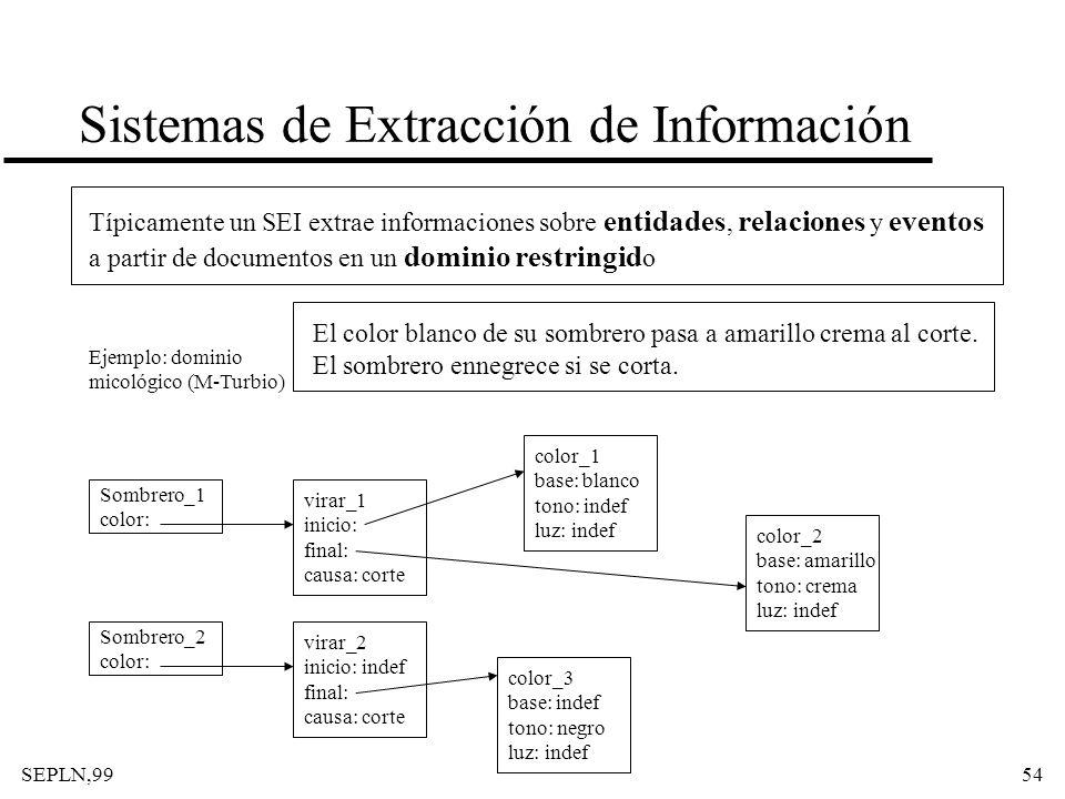 Sistemas de Extracción de Información