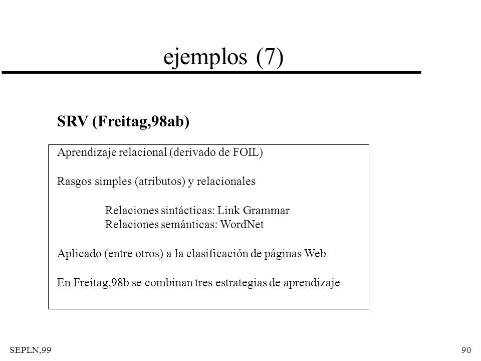ejemplos (7) SRV (Freitag,98ab)