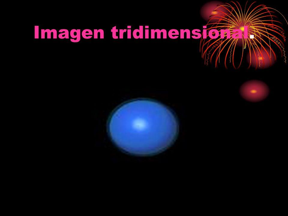Imagen tridimensional.