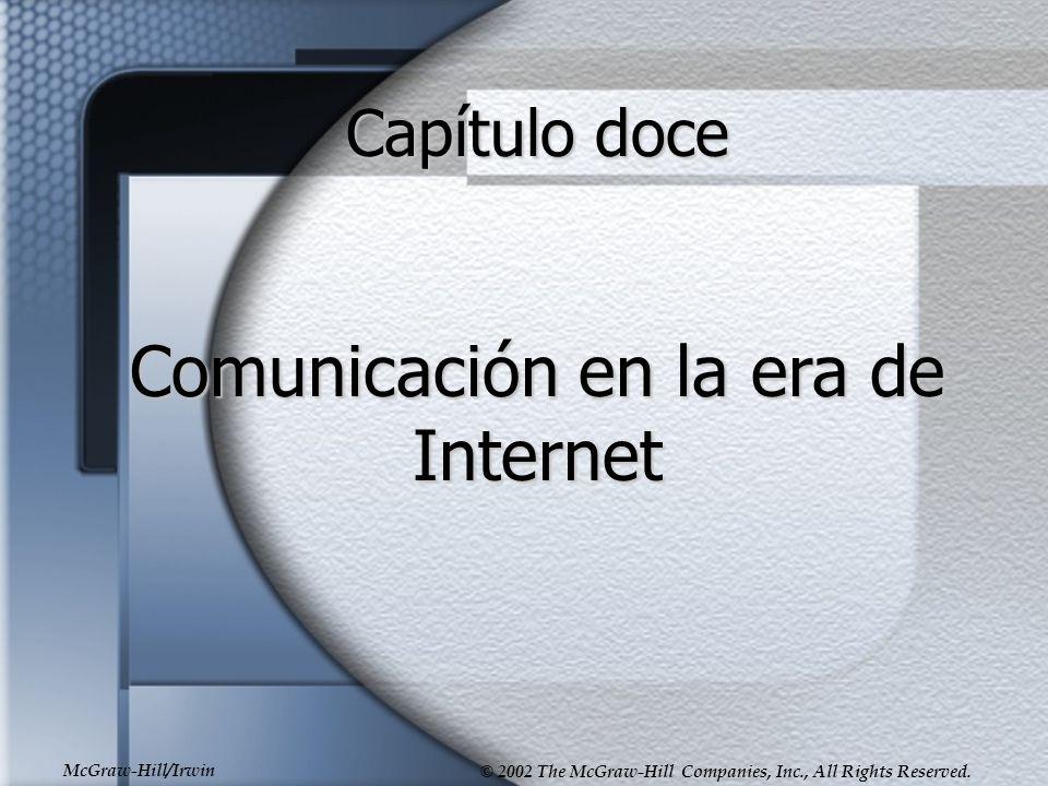Comunicación en la era de Internet