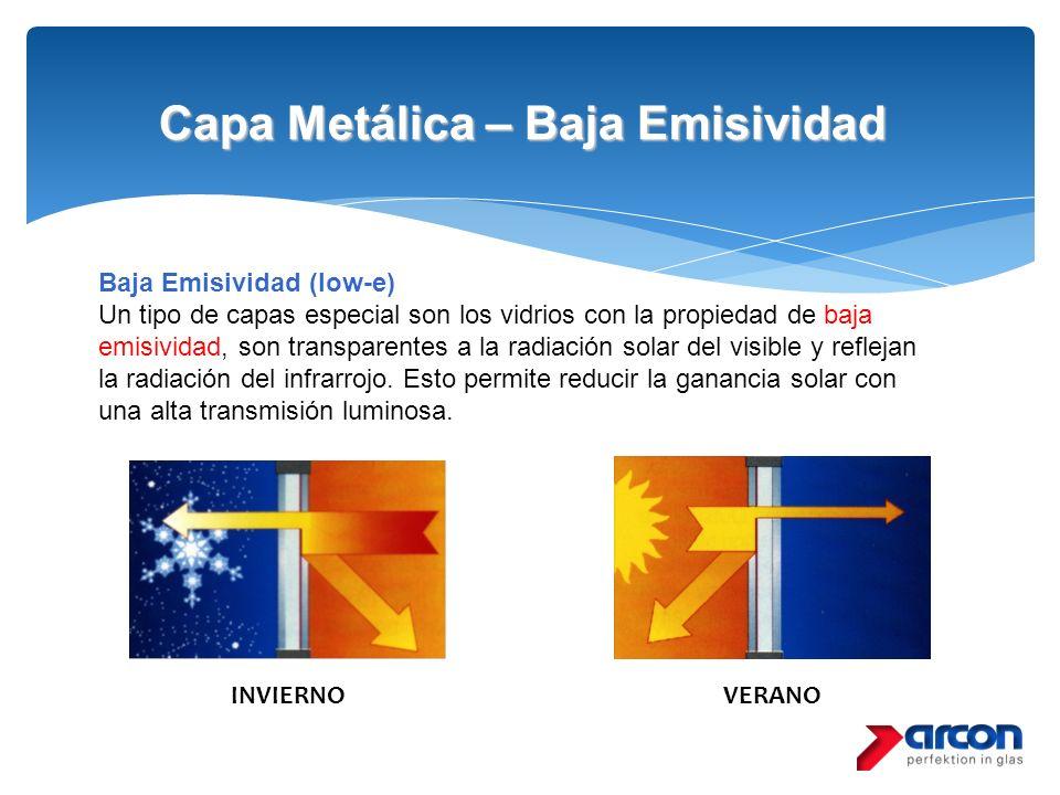 Capa Metálica – Baja Emisividad