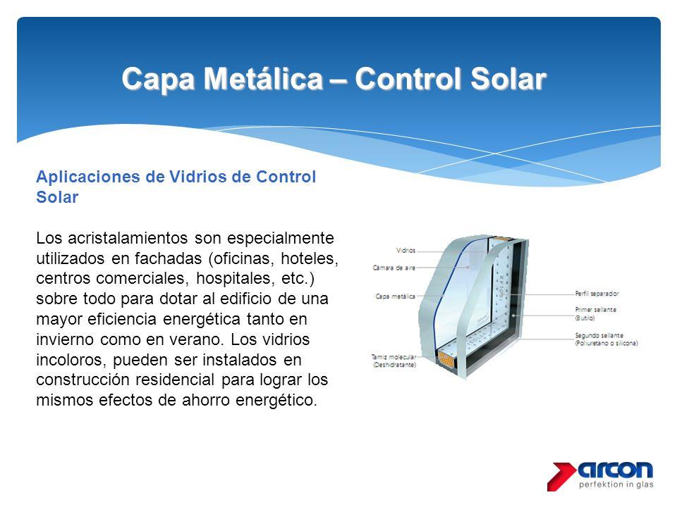 Capa Metálica – Control Solar