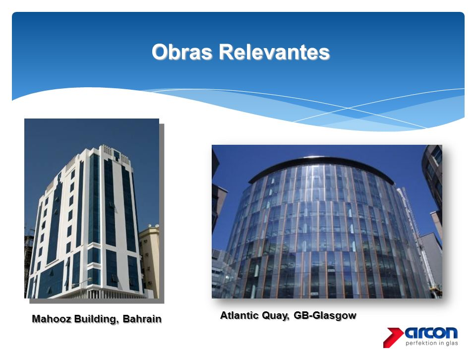 Obras Relevantes Atlantic Quay, GB-Glasgow Mahooz Building, Bahrain