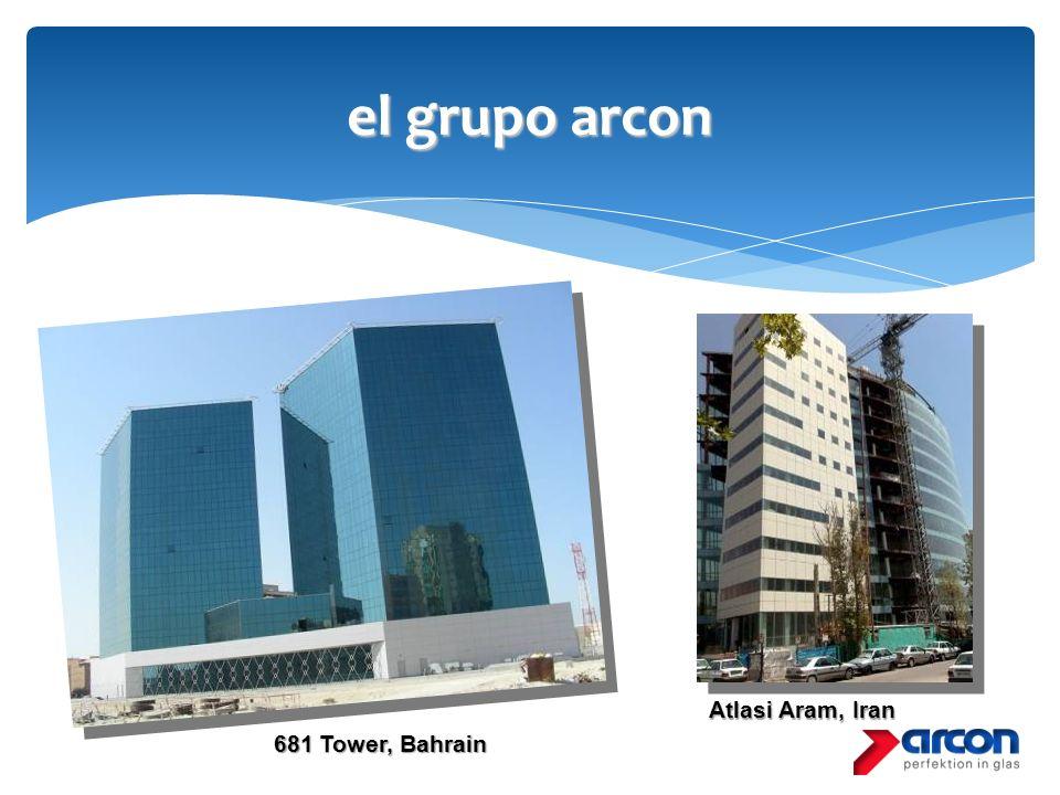 el grupo arcon Atlasi Aram, Iran 681 Tower, Bahrain