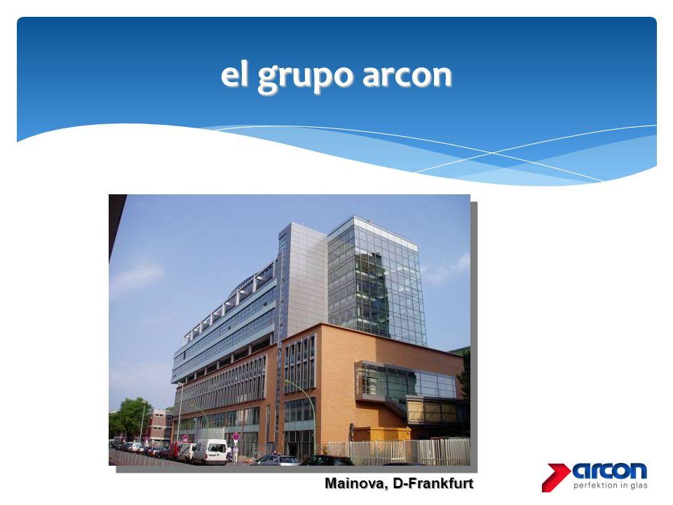 el grupo arcon Mainova, D-Frankfurt