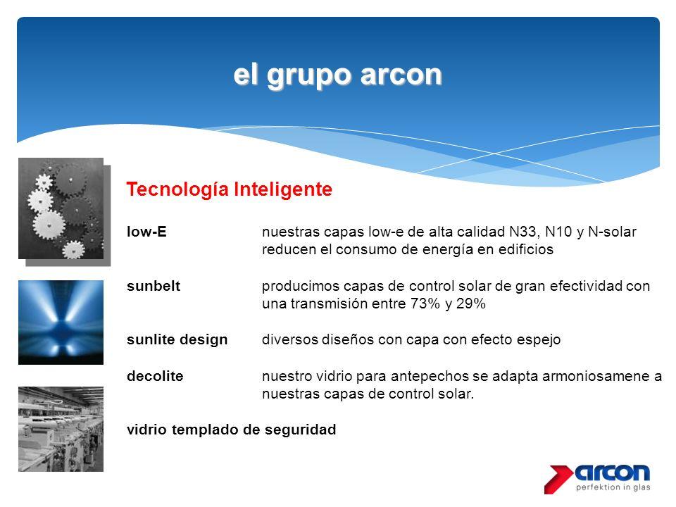 el grupo arcon Tecnología Inteligente