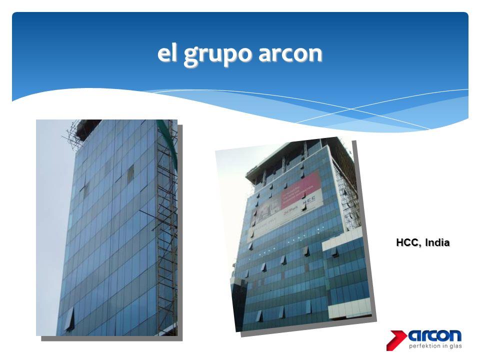 el grupo arcon HCC, India