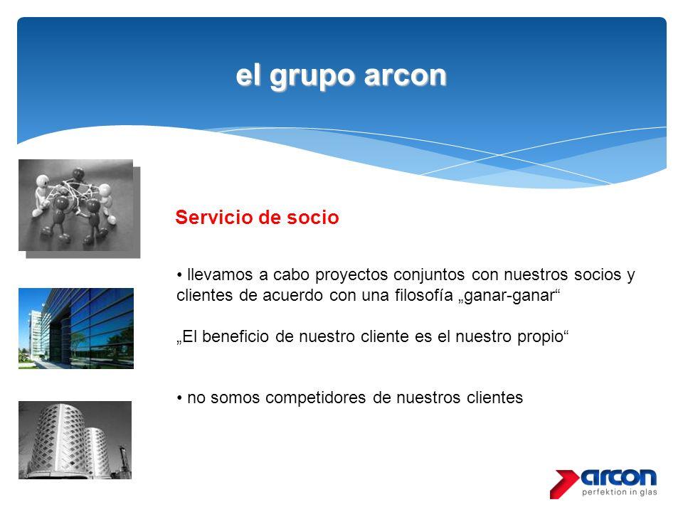 el grupo arcon Servicio de socio