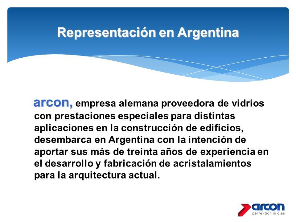 Representación en Argentina