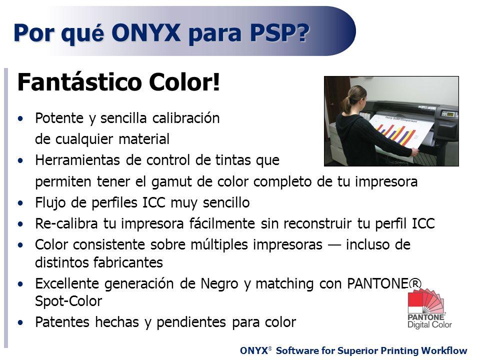 Por qué ONYX para PSP Fantástico Color!