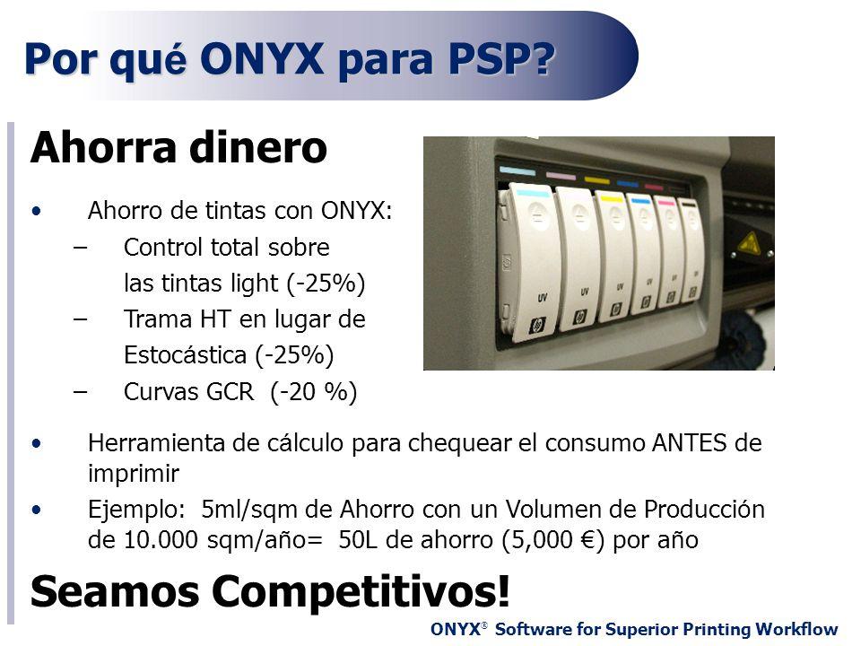Por qué ONYX para PSP Ahorra dinero Seamos Competitivos!