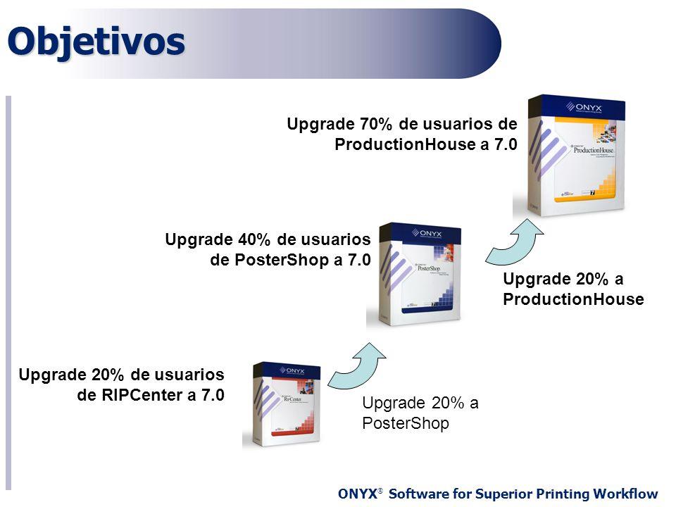 Objetivos Upgrade 70% de usuarios de ProductionHouse a 7.0
