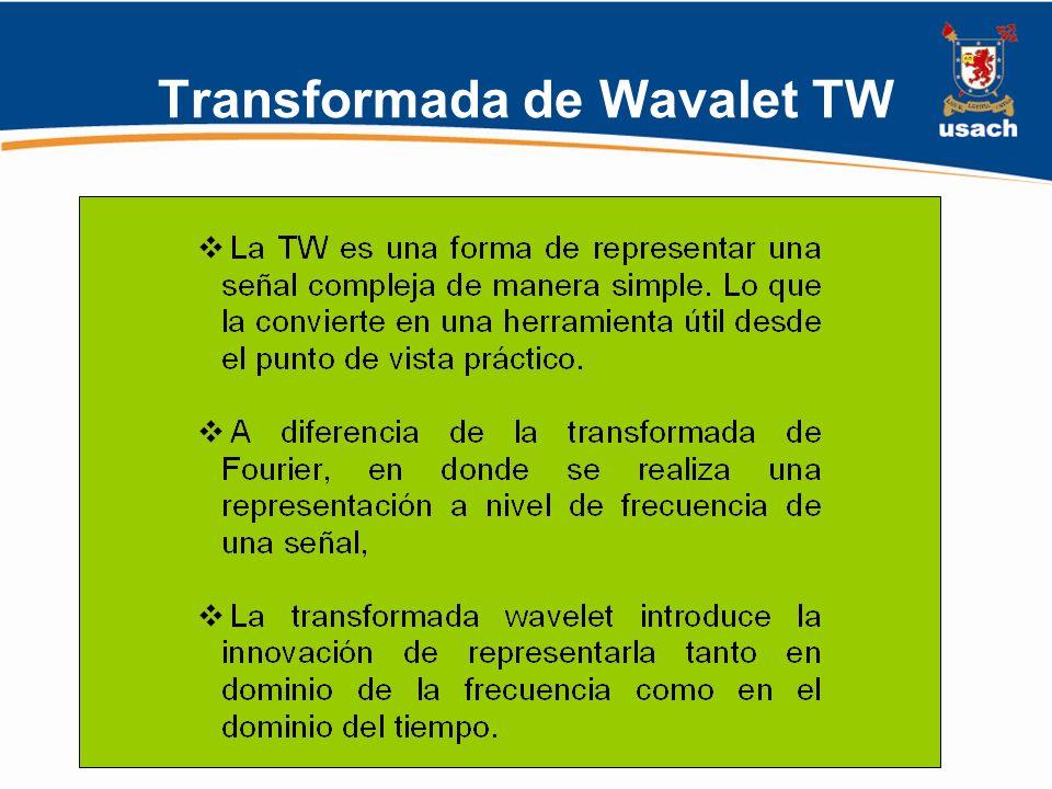 Transformada de Wavalet TW