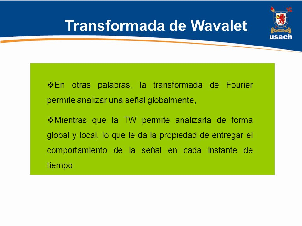 Transformada de Wavalet