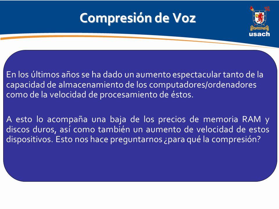 Compresión de Voz
