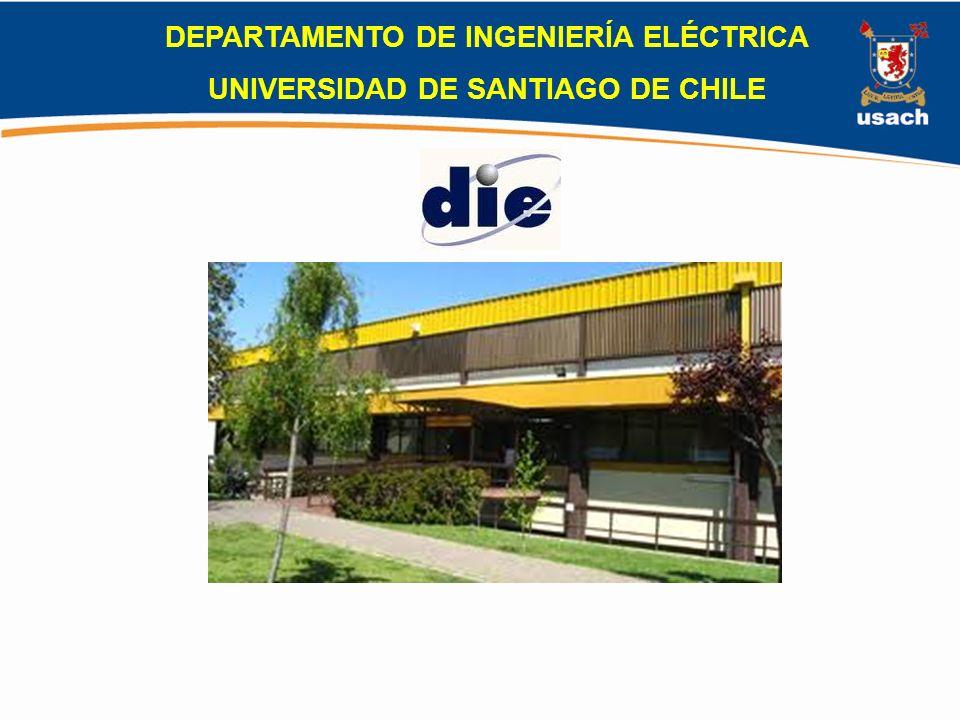 DEPARTAMENTO DE INGENIERÍA ELÉCTRICA UNIVERSIDAD DE SANTIAGO DE CHILE