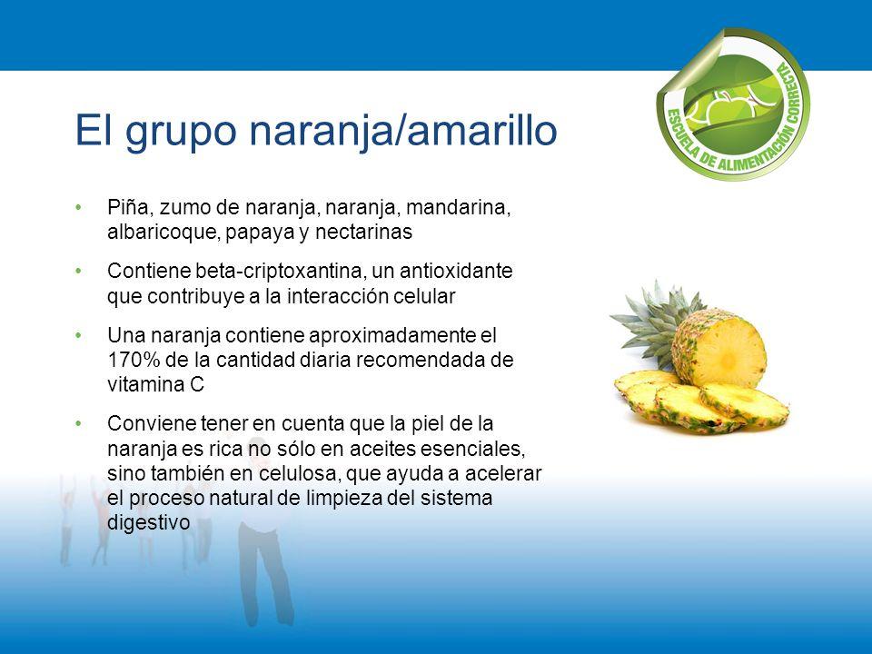 El grupo naranja/amarillo