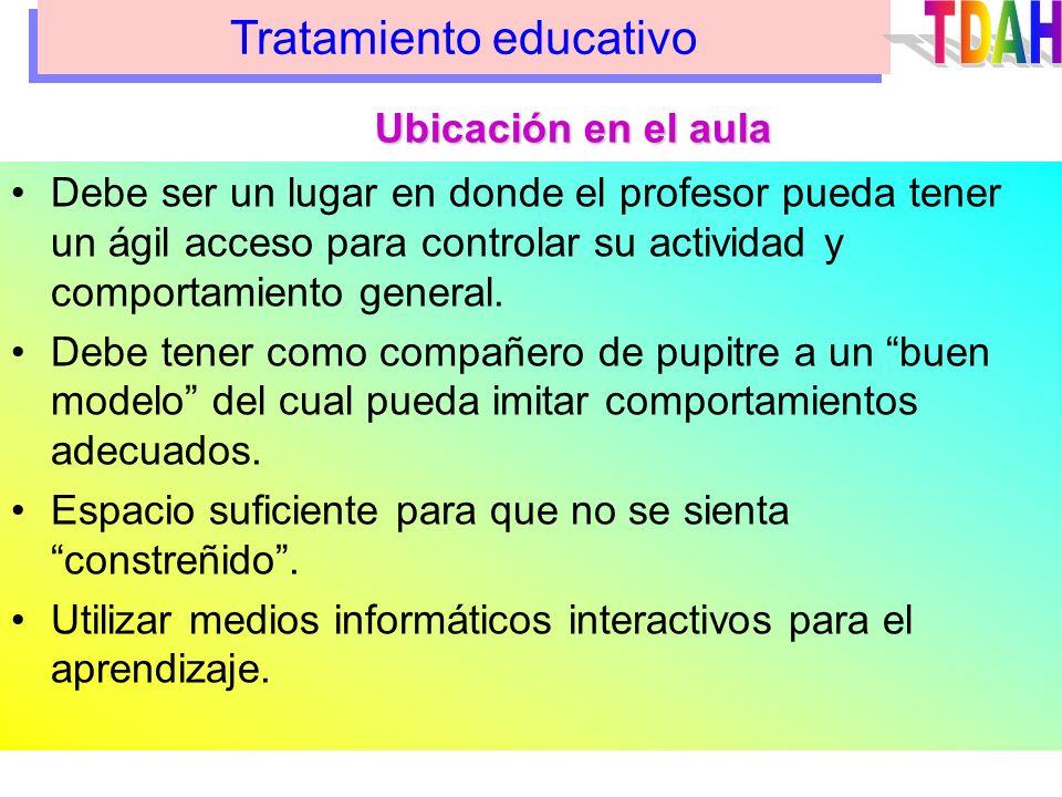 Tratamiento educativo