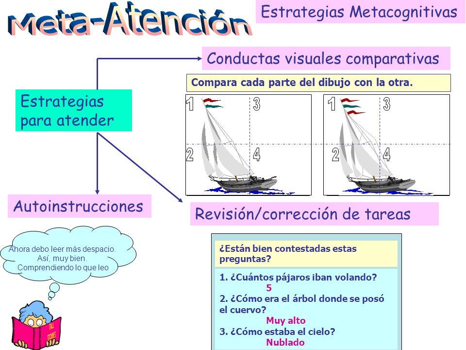 Meta-Atención Estrategias Metacognitivas