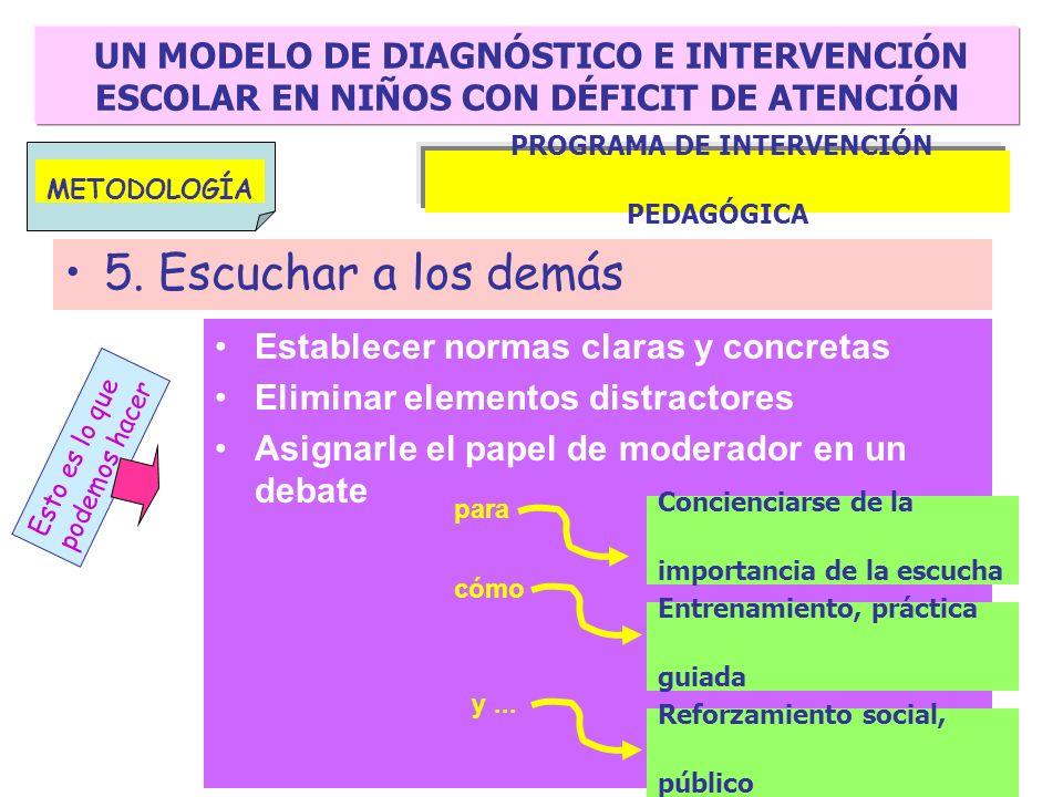 PROGRAMA DE INTERVENCIÓN PEDAGÓGICA