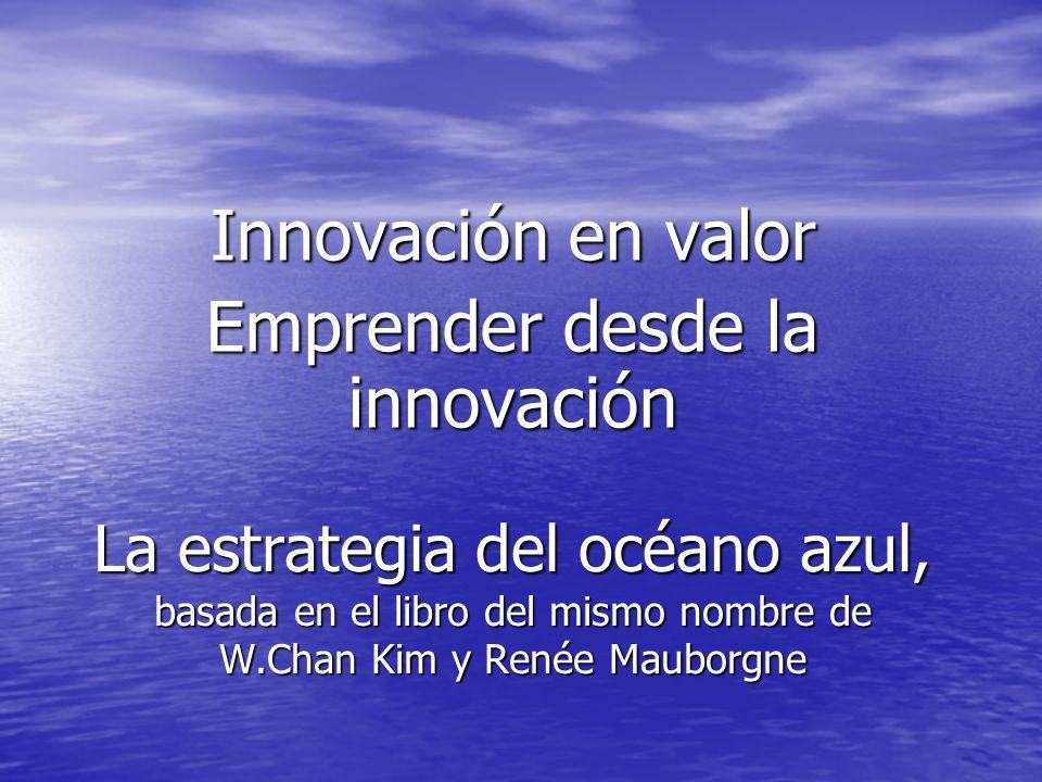 Innovación en valor Emprender desde la innovación