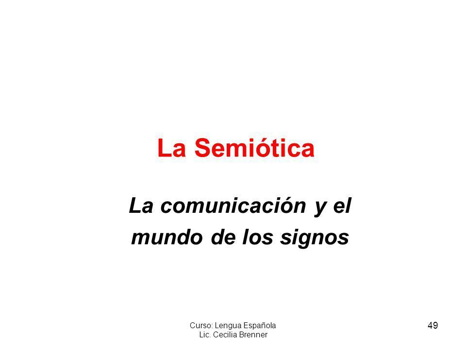 La comunicación y el mundo de los signos