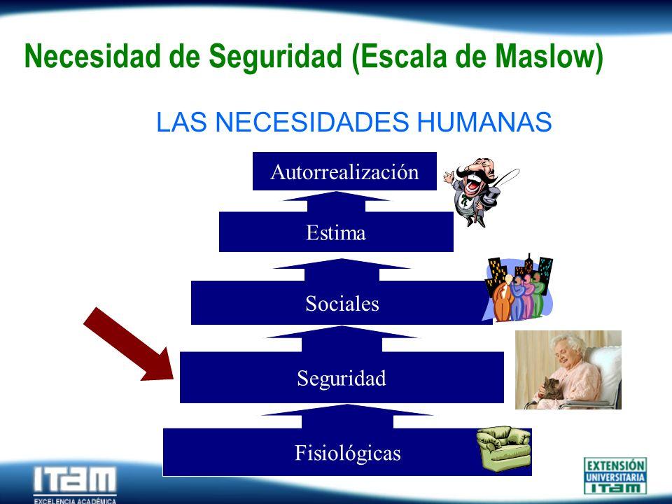 Necesidad de Seguridad (Escala de Maslow)