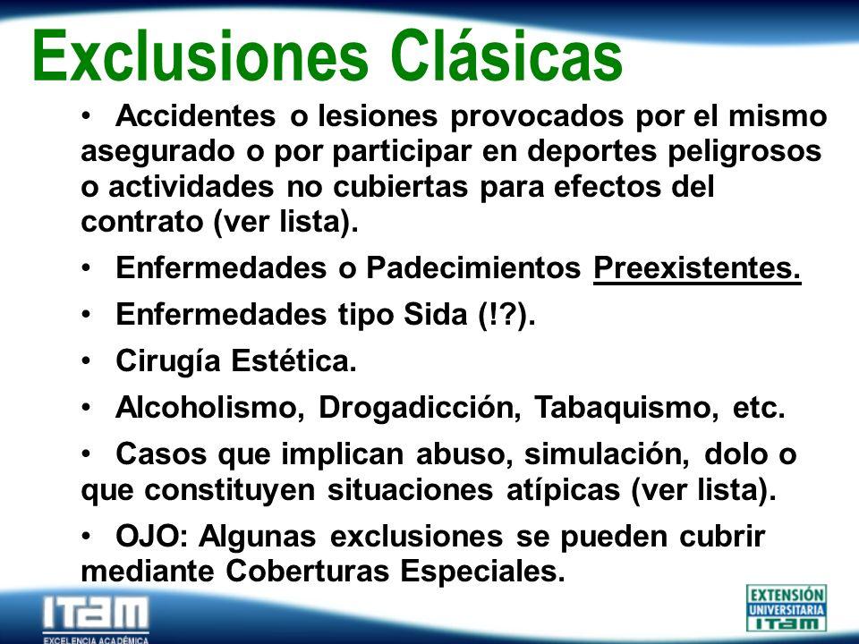 Exclusiones Clásicas