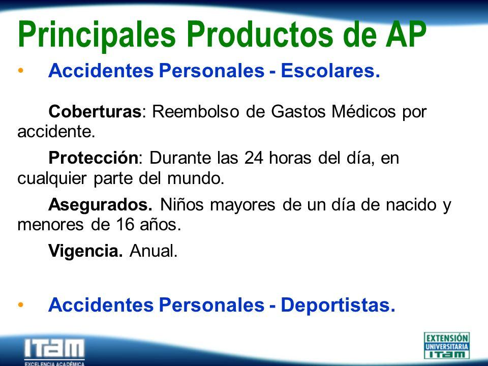 Principales Productos de AP