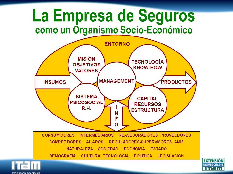 La Empresa de Seguros como un Organismo Socio-Económico