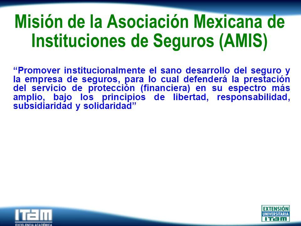 Misión de la Asociación Mexicana de Instituciones de Seguros (AMIS)