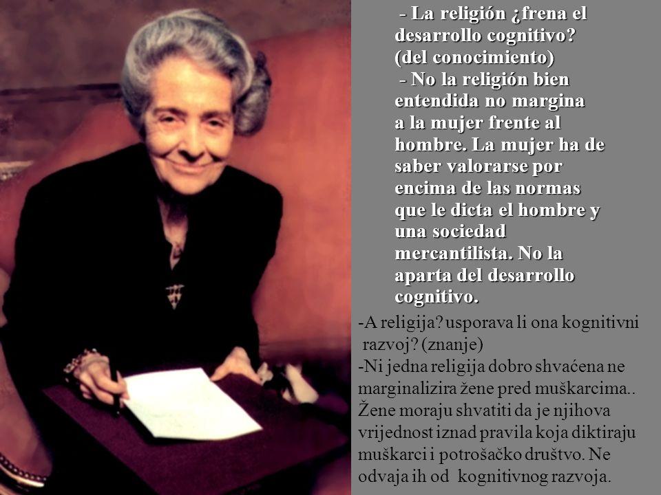 - La religión ¿frena el desarrollo cognitivo